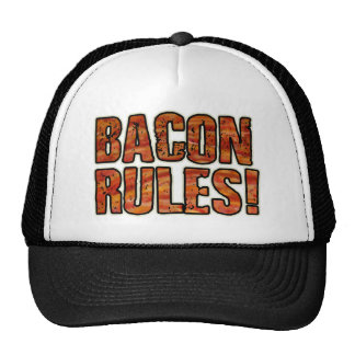 BACON RULES HAT