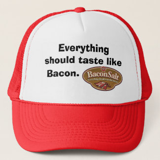 Bacon Salt Hat - Logo / Everything should taste li