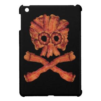 Bacon Skull and Crossbones iPad Mini Case