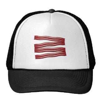 Bacon Strips Mesh Hats