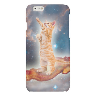 Bacon Surfing Cat in the Universe iPhone 6 Plus Case