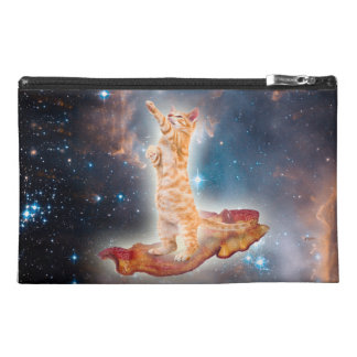 Bacon Surfing Cat in the Universe Travel Accessories Bags