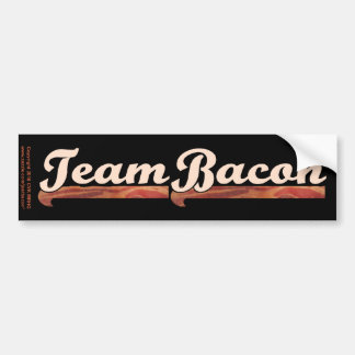 Bacon Team Bumper Sticker
