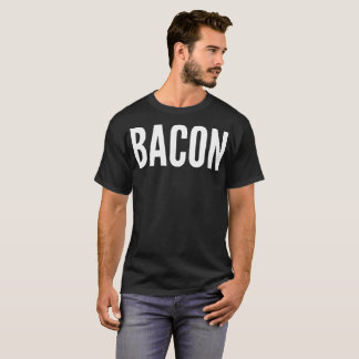 """Bacon"" Typography T-Shirt"
