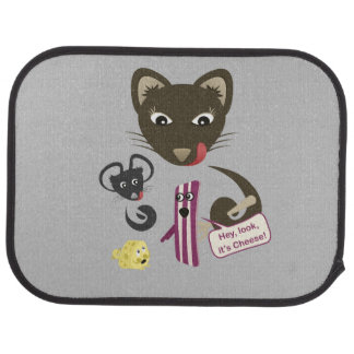 Bacon Unites Friends and Foes Floor Mat