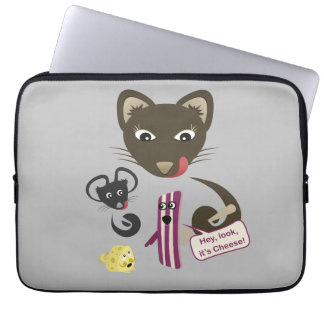 Bacon Unites Friends and Foes Laptop Computer Sleeve