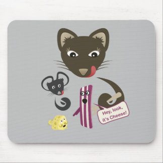 Bacon Unites Friends and Foes Mouse Pads