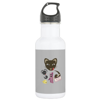 Bacon Unites Friends and Foes 532 Ml Water Bottle