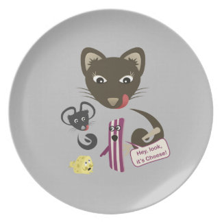 Bacon Unites Friends and Foes Plates