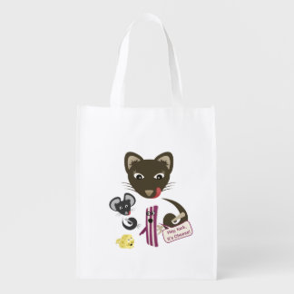 Bacon Unites Friends and Foes Market Totes