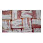 Bacon Weave Business Card Template