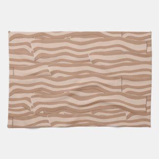 Bacon Weave Pattern Hand Towel