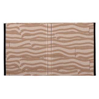 Bacon Weave Pattern iPad Folio Cover