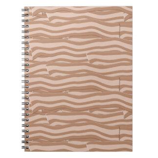Bacon Weave Pattern Note Books