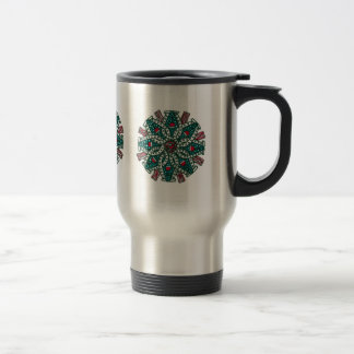 Bacon, wine and horse love travel mug