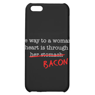 Bacon Woman's Heart iPhone 5C Cover