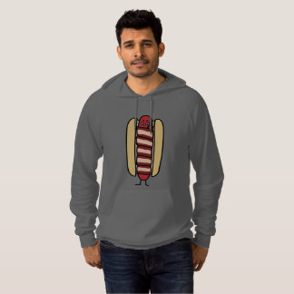 Bacon Wrapped Hot Dog Hotdog Wiener Bacon-wrapped Hoodie
