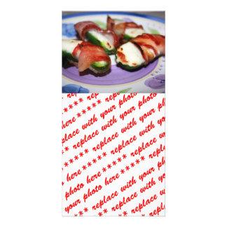 Bacon Wrapped Jalapenos Photo Card