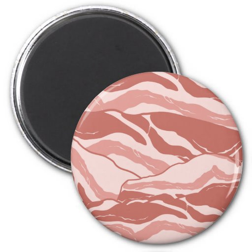 Bacon Wrapped Refrigerator Magnet