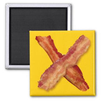 Bacon X O X LOVE Fridge Magnets