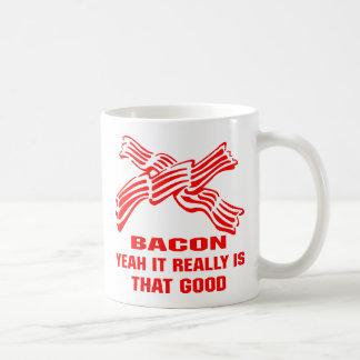 Bacon Yeah It Really Is That Good Basic White Mug