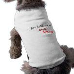 Bacon You Had Me At Sleeveless Dog Shirt