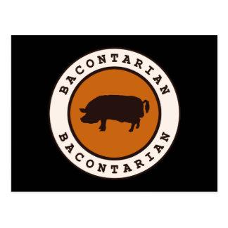 Bacontarian Postcard