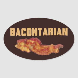 Bacontarian Stickers