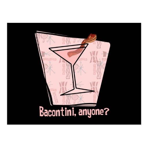 Bacontini Anyone Post Card