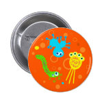 Bacteria 6 Cm Round Badge