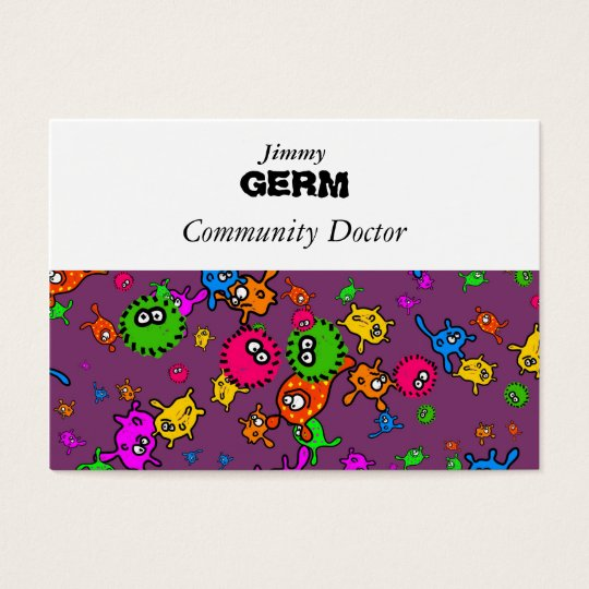Bacteria Wallpaper Business Card