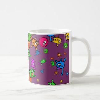 Bacteria Wallpaper Coffee Mugs