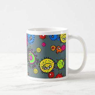 Bacteria Wallpaper Mugs