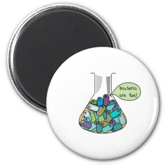 Bacterial Culture 6 Cm Round Magnet