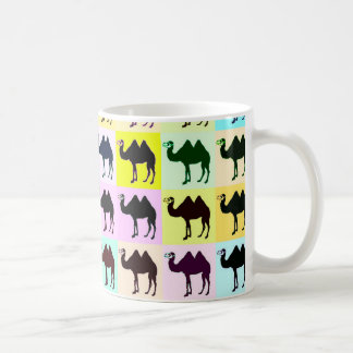 Bactrian Camel Goes Pop Mug