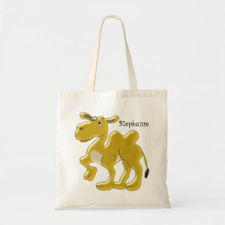 Bactrian Camel Just Add Name Tote Bag