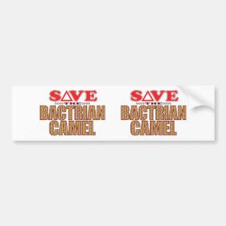Bactrian Camel Save Bumper Sticker