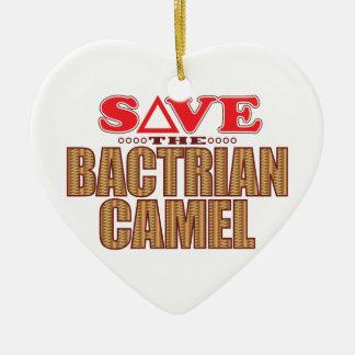 Bactrian Camel Save Christmas Ornament