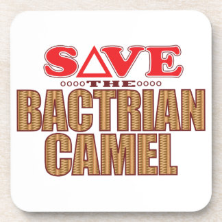 Bactrian Camel Save Coaster