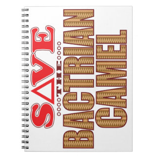 Bactrian Camel Save Notebook
