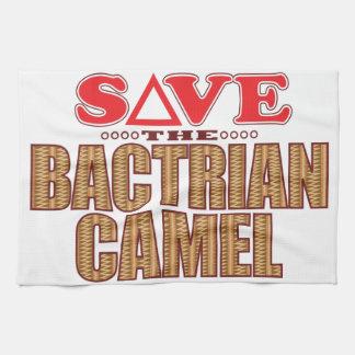 Bactrian Camel Save Tea Towel