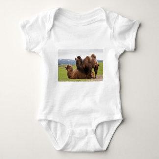 Bactrian Camels Baby Bodysuit