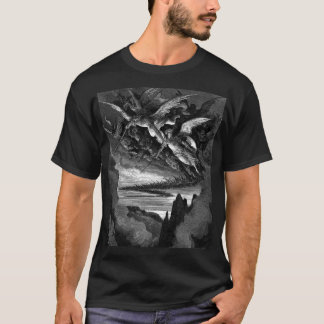Bad Angels - Gustave Dore T-Shirt