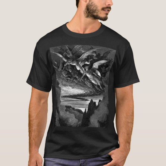 Bad Angels - Gustave Dore T-Shirt