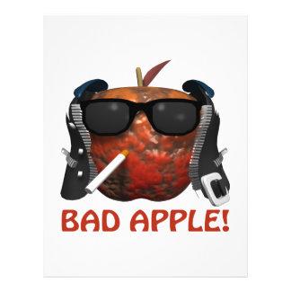 Bad Apple Flyer Design