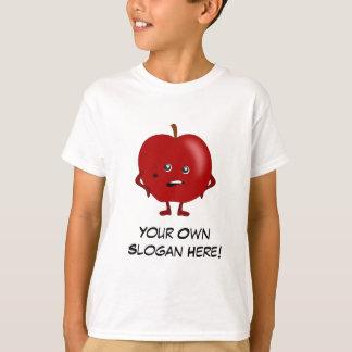Bad Apple with Customizable Slogan T-Shirt