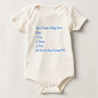 Bad Ass Baby Baby Bodysuit