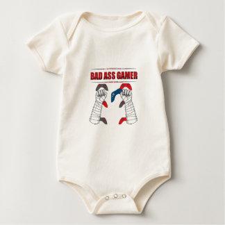 Bad Ass Gamer Baby Bodysuit