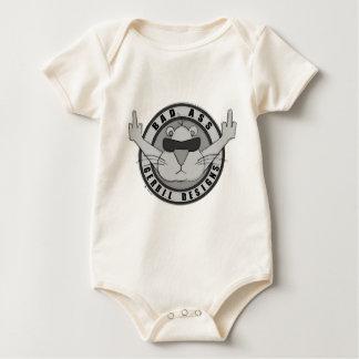 Bad Ass Gerbil Designs Baby Bodysuit