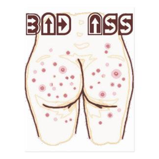 bad ass postcard